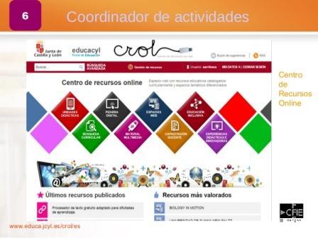 Recursos online JCyL